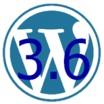 WordPress Logo 3.6