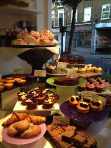 Delicious treats at Ottolenghi in London's Notting Hill